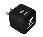 Power Banks - Custom Imprinted Double Port Wall Charger