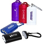 Promotional Tools - Custom Imprinted Promotional Carabiner Flashlights