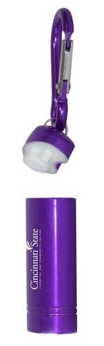 Carabiner Flashlight When Open