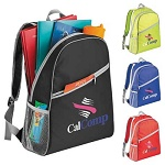 Low Cost Backpacks - Stock or with Custom Imprint