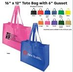 Recyclable 16 Inch Tote Bags