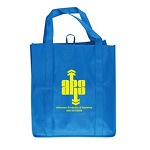 Low Cost Grocery Tote Bags - Stock or with Custom Imprint