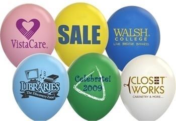 Standard 9 Inch Latex Balloons