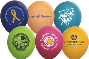 Opaque 9 Inch Latex Balloons