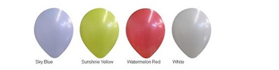 14 Inch Balloon Colors