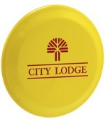 Promotional Five Inch Mini Frisbee Flyer with Custom Message Imprinted