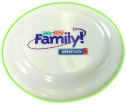 7.25-inch Glow in the Dark Child Safe Frisbee