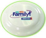 Entertainment and Fun - Glow-in-the-Dark Frisbee
