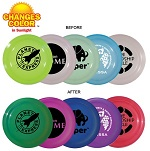 Nine Inch Sun Fun Frisbee  with Custom Message Imprinted