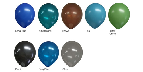11 Inch Balloon Colors