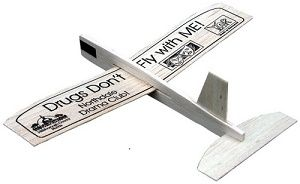 Printed Balsa Wooden Airplane