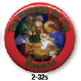 Jesus - Reason For Season Button